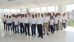 The WJ Dubai Team