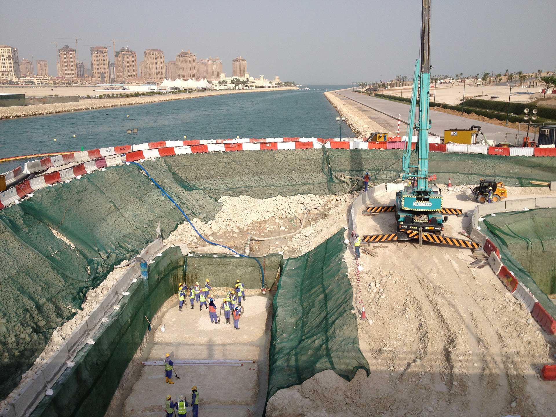 Ports Canals And Marine Wj Middle East