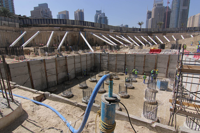 Basements wj groundwater for Basement construction