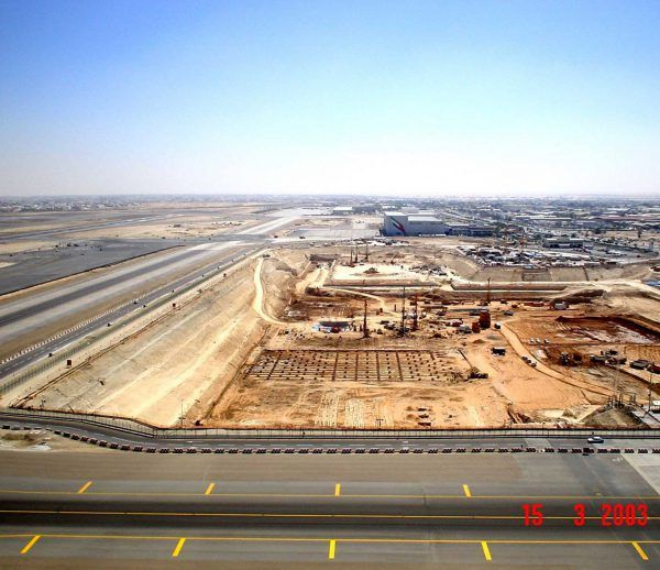 Dubai International Airport Terminal 3 and Concourses