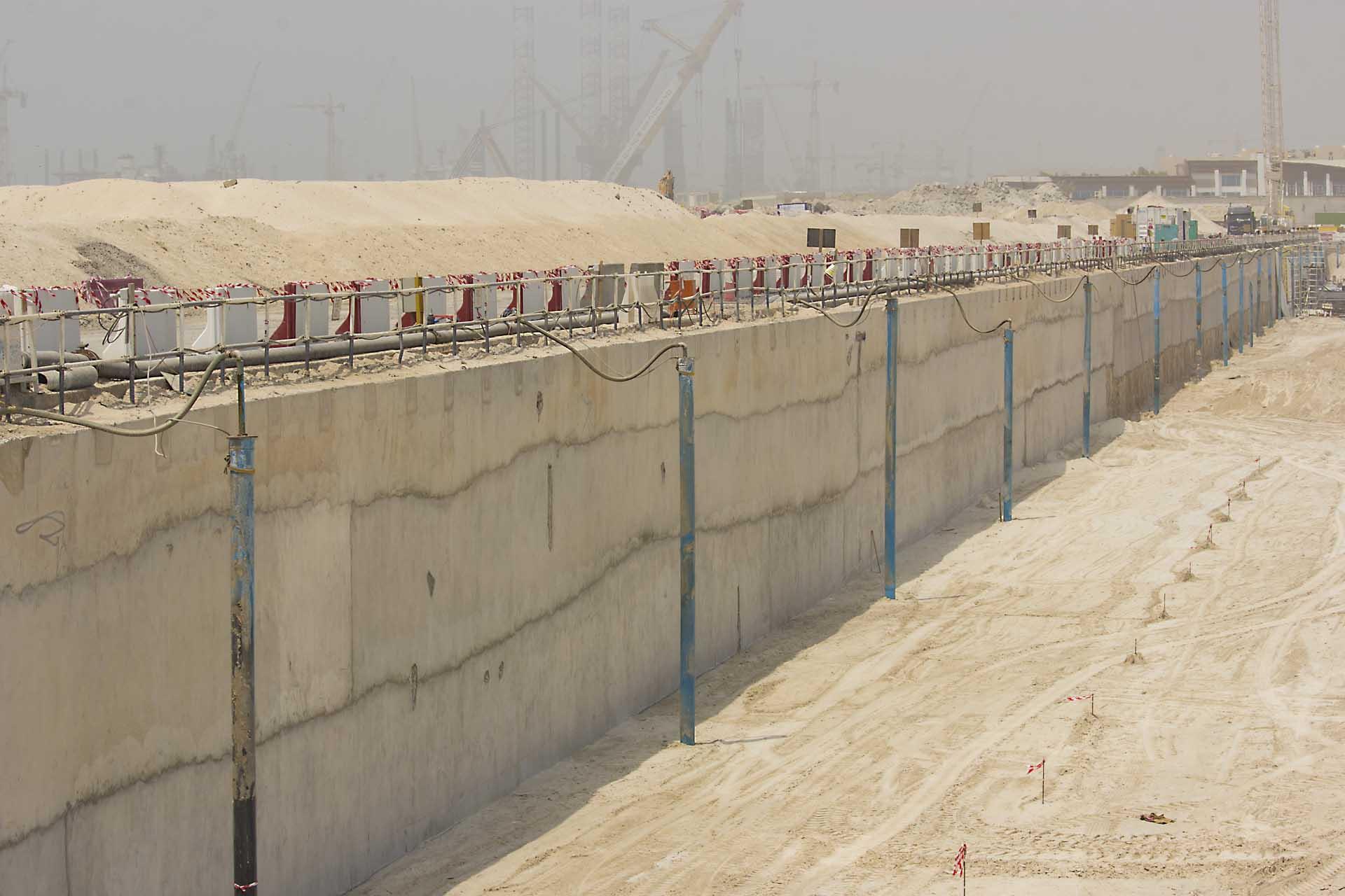 La Mer, Jumeirah Open Beach car park dewatering