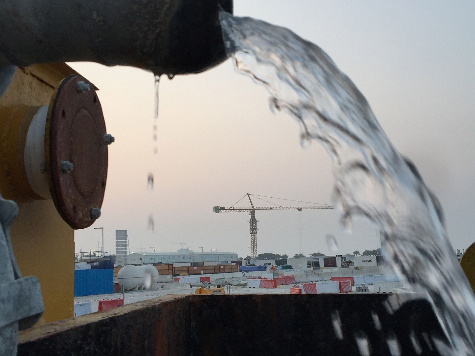 Sandbuster water pumping