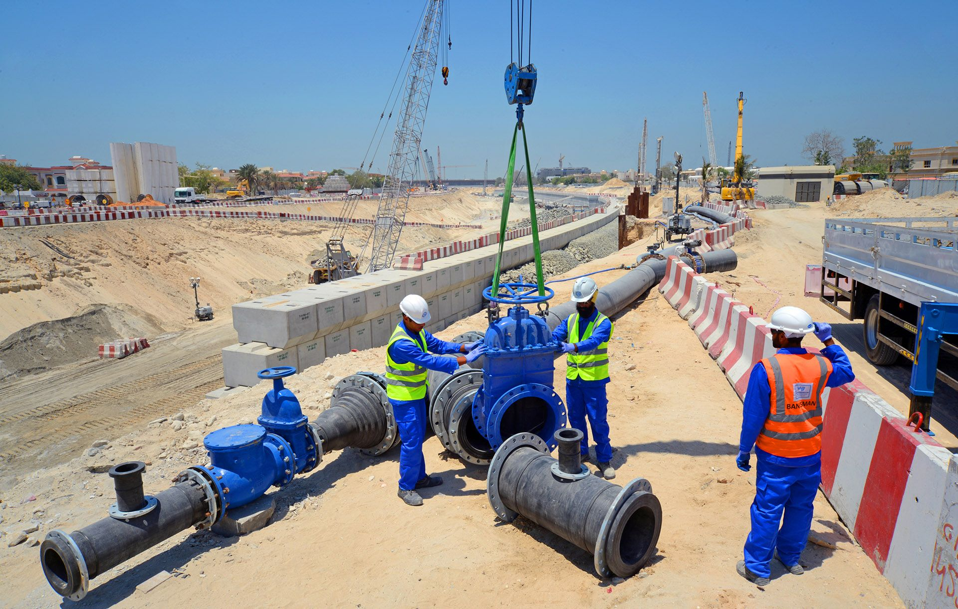 HDPE Pipeline Services | WJ Middle East