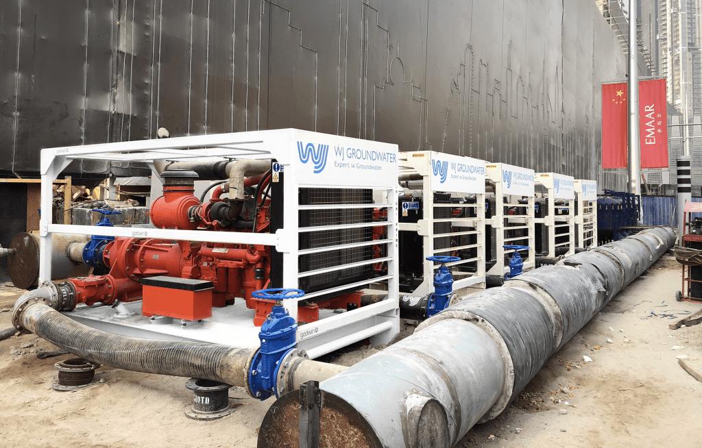 Pipeline Flushing | WJ Middle East