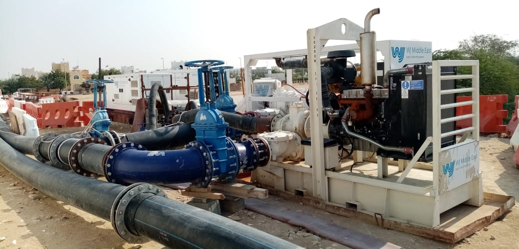 Al Samha Sewage Over Pumping