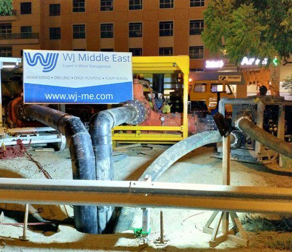 Sewage Over Pumping, Al Samha
