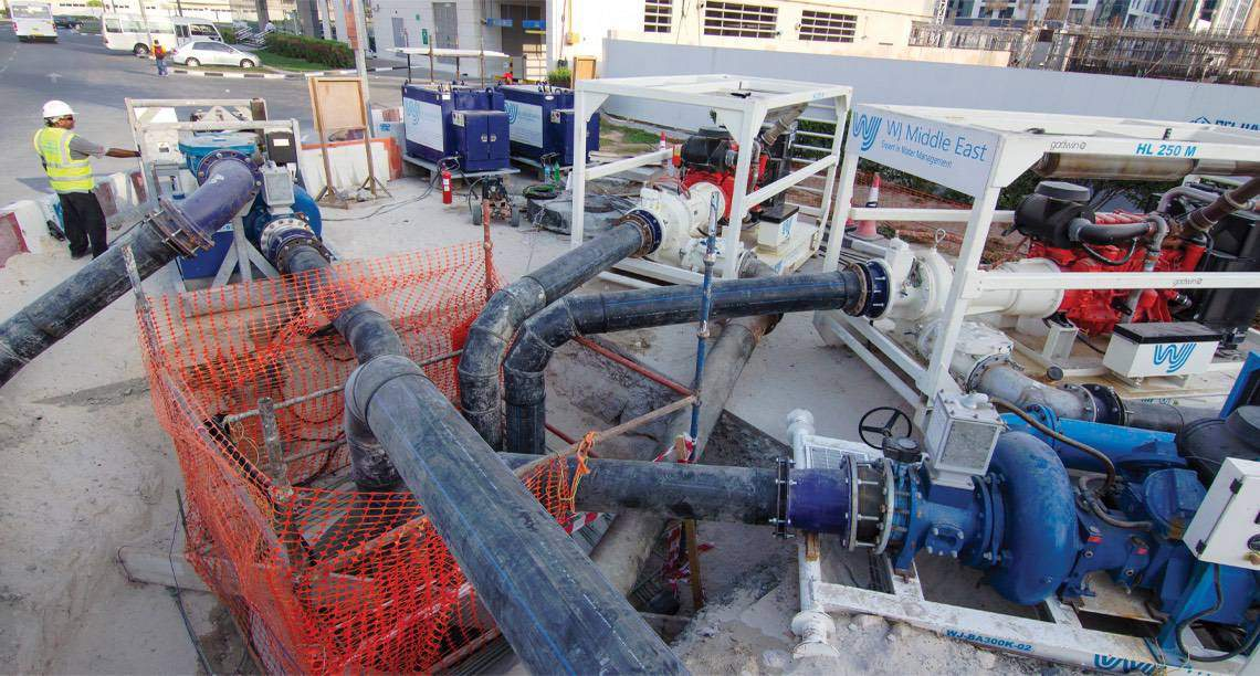 Overpumping and bypass service in action